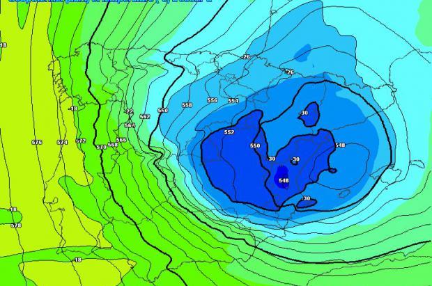 Previsión Meteo: El domingo tarde llega una Dana 'explosiva' a la Península con nevadas abundantes