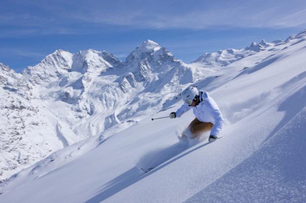 ¿Esquiar con buen tiempo? solo para los ricos