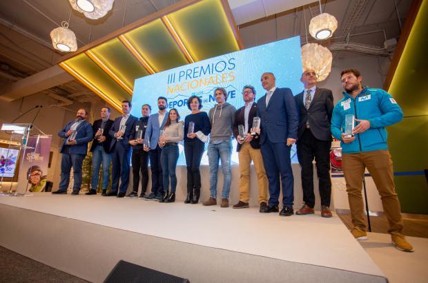 Blanca Fernández Ochoa homenajeada en los III Premios Nacionales de los Deportes de Nieve