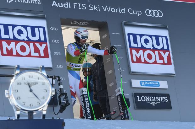 Andorra decidirá los campeones del mundo de Descenso, Super G y el Gigante femenino
