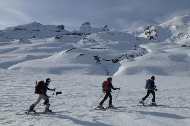 El aumento de practicantes de esquí de montaña en pistas incrementa el riesgo de accidentes