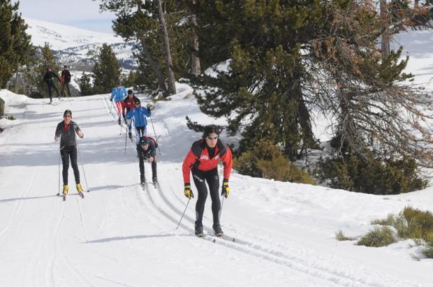 El esquí nórdico catalán cierra la temporada 2016-17 con un impacto económico de más de 7 millones