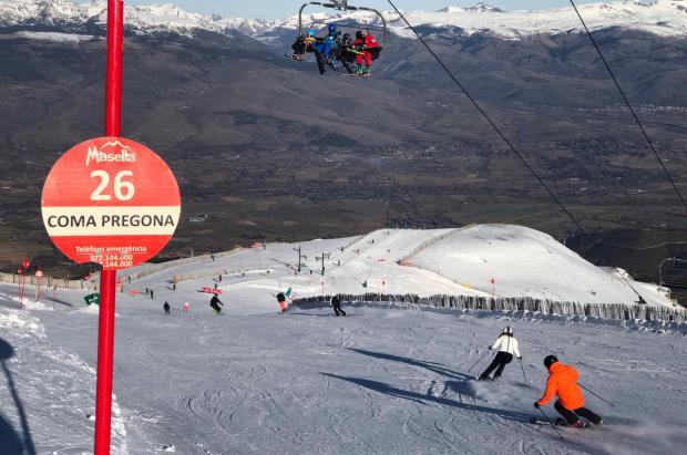 Masella despide unas fiestas de Navidad con jornadas de más de 9.000 esquiadores en pistas