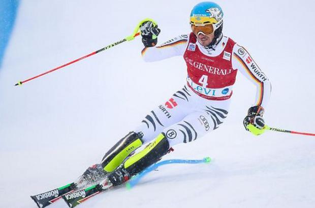 Victoria y liderato para Felix Neureuther en el slalom de Levi