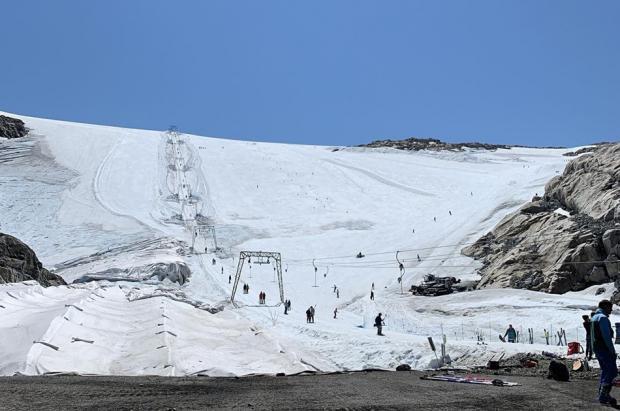 Cerró Fonna, el glaciar noruego para el esquí de verano