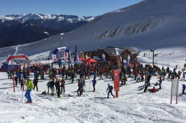 Axelle Mollaret y Anton Palzer, vencedores de la Copa del Mundo de skimo de la Font Blanca