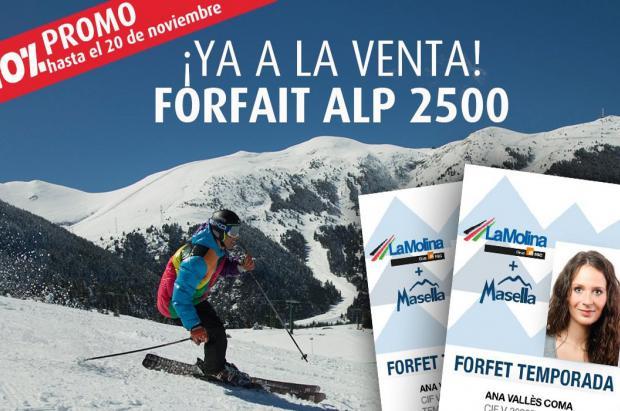 Se firma el acuerdo in extremis que permite mantener el forfait Alp 2500 un invierno más