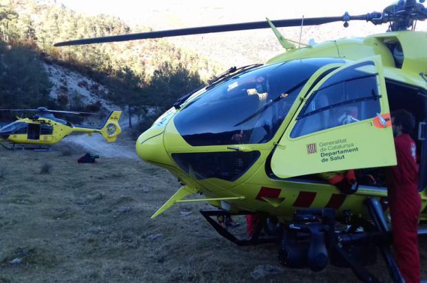 Muere un excursionista al caer por un barranco en el Pallars Sobirà (Lleida)