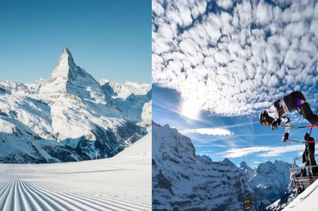 Luz verde de Italia a crear el primer descenso de esquí transfronterizo con Suiza