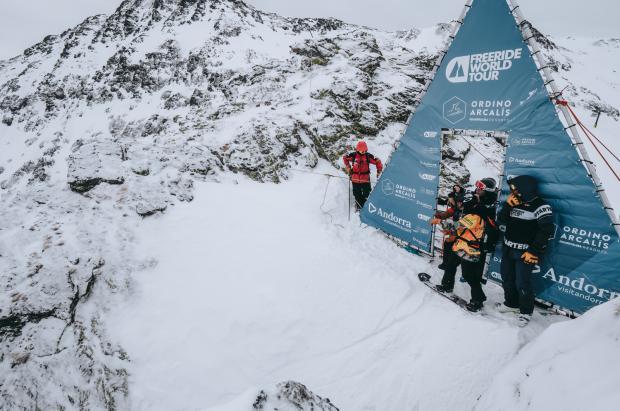 La nevada y el segundo puesto de Núria Castán ponen la guinda del FWT Ordino Arcalís
