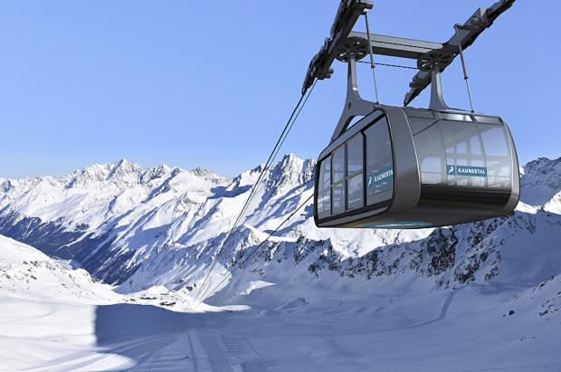 Kaunertal estrenará en otoño un teleférico diseñado para hacer frente al deshielo del glaciar