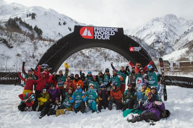 Se ha hecho historia en los Alpes japoneses: Freeride World Tour Hakuba 2019