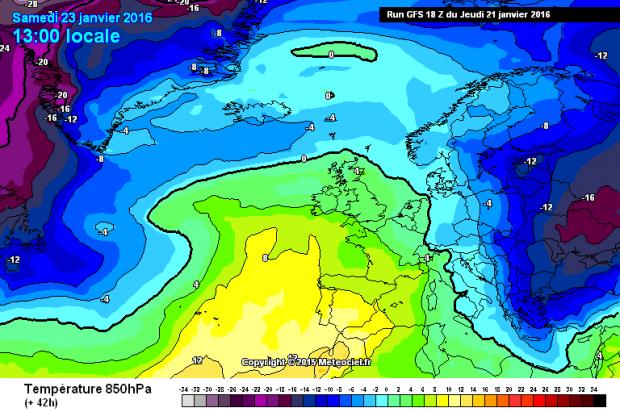 Previsión Meteo Fin de Semana: LLegó el anticiclón pero no por muchos días