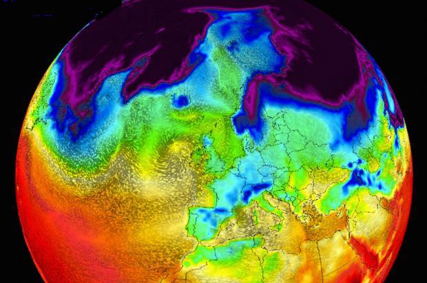 Previsión Meteo Fin de Semana: Continúa el festival de frío, nieve y viento