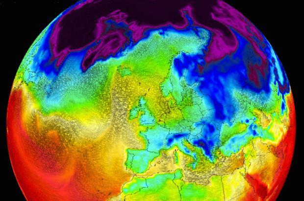 Previsión Meteo Fin de Semana: Anticiclón hasta el martes con la llegada de nevadas y frío