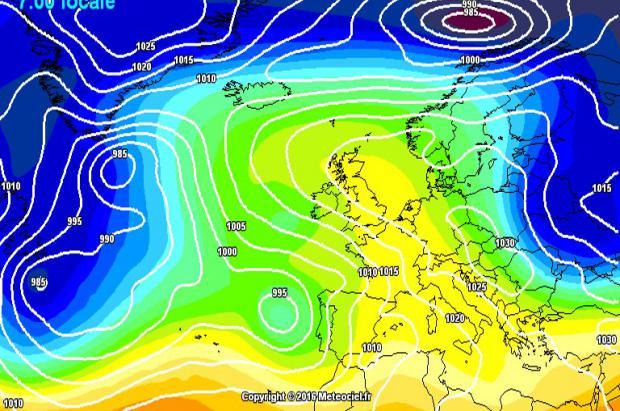 Previsión Meteorológica: Una borrasca sureña visita la Península Ibérica