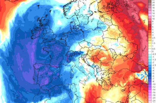 Las nevadas pueden llegar al metro de nieve en el norte y el frío será extremo en los próximos días