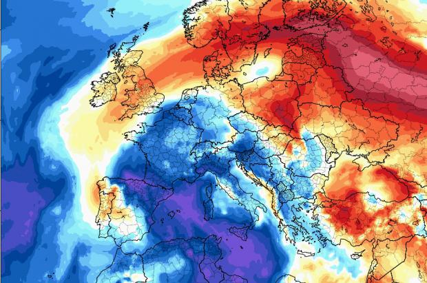Alerta Meteo: Llega un episodio de frío severo invernal con nevadas en cotas muy bajas