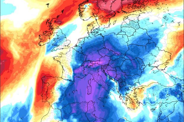 Previsión Meteo: estabilidad en año nuevo y probable entrada aire frío polar para Reyes