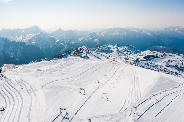 Les 2 Alpes abre su glaciar para esquiar del 17 de octubre al 1 de noviembre