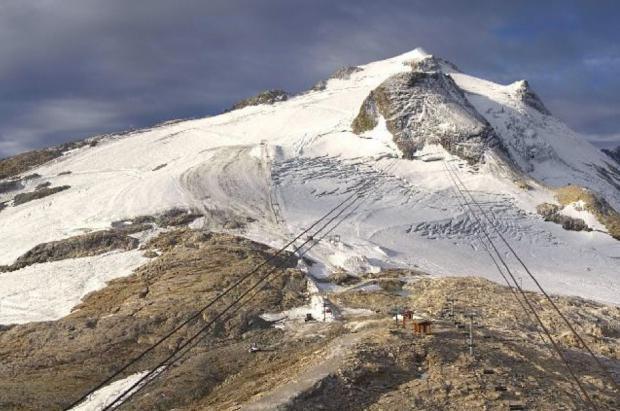 Tignes aplaza la apertura del glaciar por falta de nieve