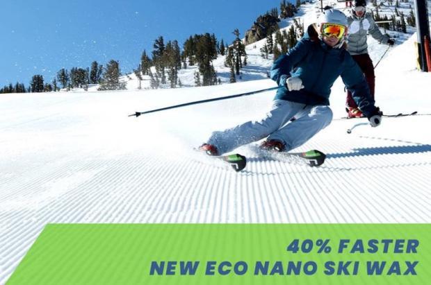 Nueva cera para esquís Glide Nano: ecológica y un 40% más rápida