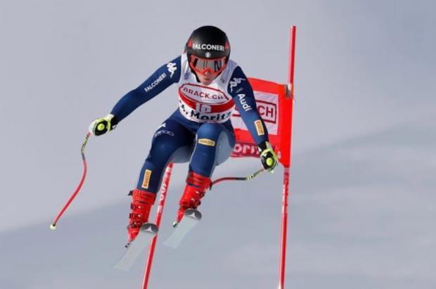 Goggia gana el Super G de St. Moritz y el viento obliga a suspender el slalom de Val d'Isère