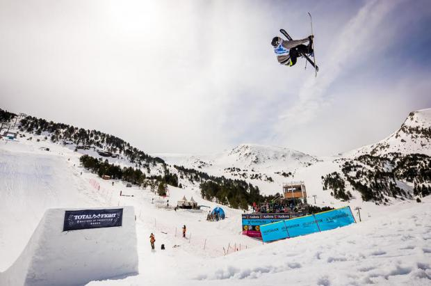 McRae Williams domina la sesión de clasificación del Grandvalira Total Fight Freeski