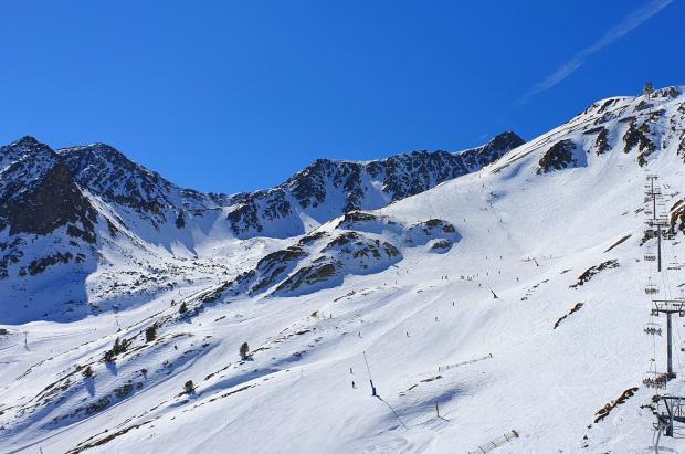 Grandvalira ofrece 166 pistas abiertas y hasta 130 cm a la espera de una nevada de 10/15 cm