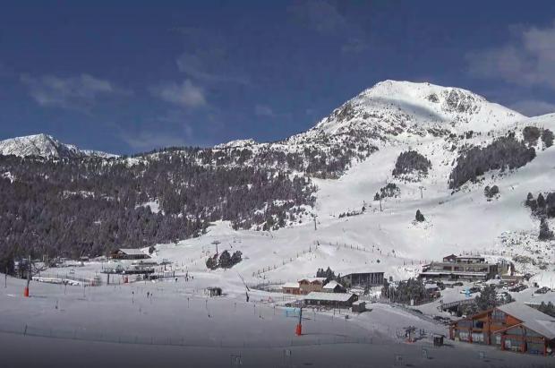 ¿Cómo está Grandvalira después de la nevada? vídeos y fotos de este jueves 4 de abril
