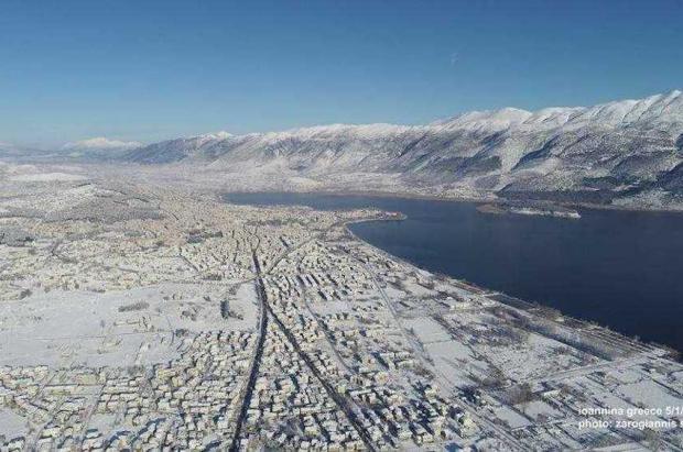 Caos a causa de las fuertes nevadas en el centro de Europa… y Grecia