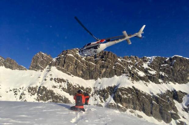 Lech Zürs es la única estación de Austria en la que se puede practicar heliesquí