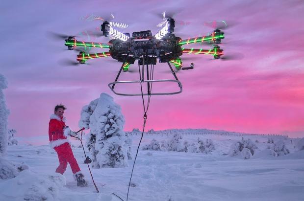 La conexión entre Grandvalira y Porté-Puymorens mediante drones para 2022