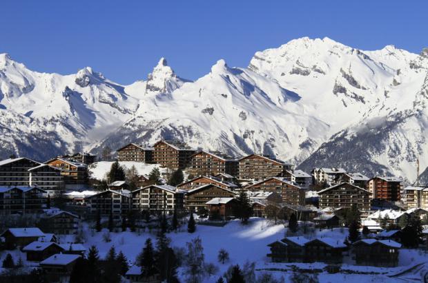 Nendaz corazón de los 4 Valles y reino del sol suizo