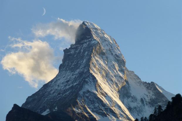 Magnífica imagen de Zermatt Matterhorn