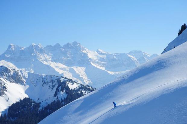 Este año no hay discusión, el mejor destino para esquiar en Semana Santa son los Alpes franceses