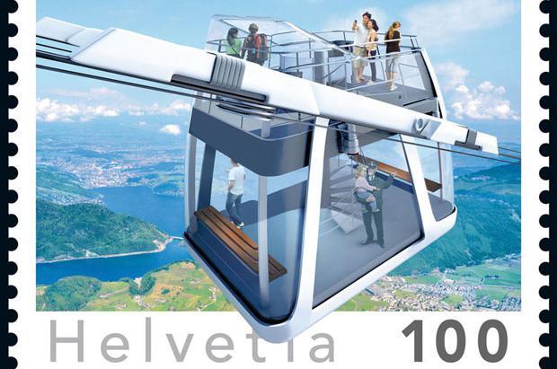Teleférico cabrio del Stanserhorn: La nueva moda de las melenas al viento