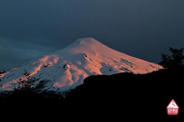 Avalancha en el Volcán Villarica