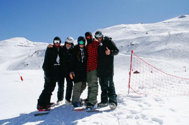 Ripando Parks: Gold Mountain Snowpark de Piau Engaly