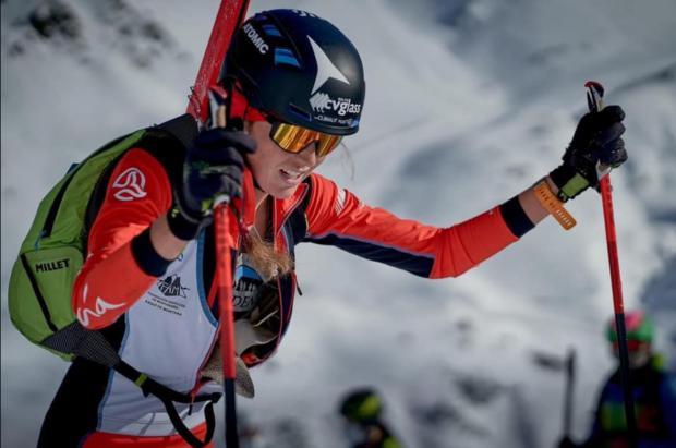 """Ana Alonso, campeona de España de esquí de montaña: """"Espero mantener la forma en la Copa del Mundo"""""""