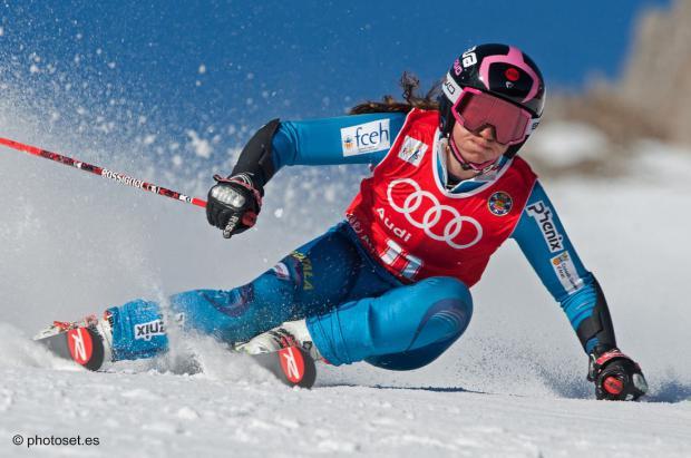 """Anna Esteve: """"Mi meta es poder vivir del esquí, este sería mi sueño"""""""