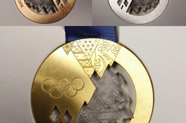 El comité Olímpico ruso presenta el diseño final de las medallas de  Sochi 2014