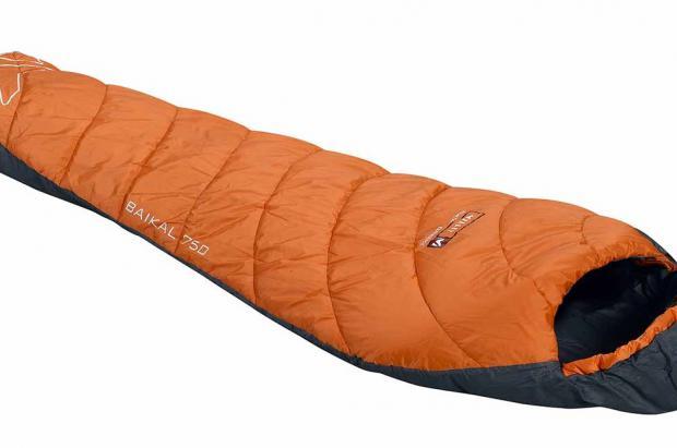 Duerme en plena naturaleza con el saco de dormir Millet Baikal-750