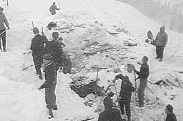 1954 Vorarlberg. La mayor catástrofe por alud del mundo