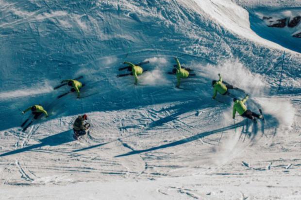 Coretti: esquís de taller con núcleo de bambú