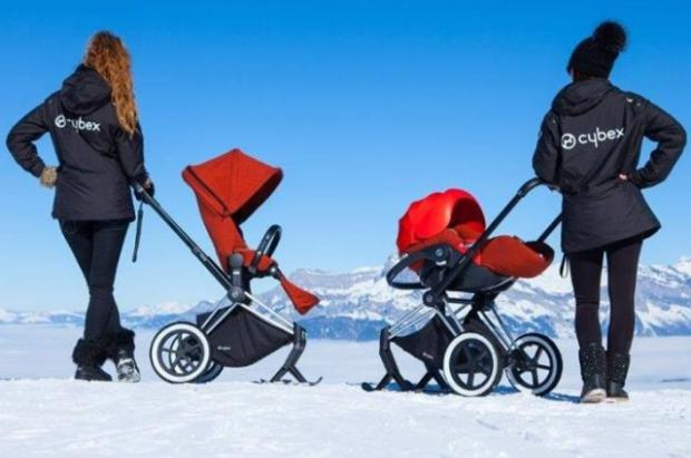 Cybex Priam Skis: Tener un beb ya no será un problema para ir a la nieve