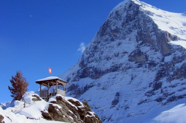 Eigernordwand, Jungfrau Ski Region