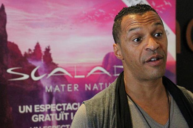 Stéphane Boko, director artístico de SCALADA MATER NATURA, del Cirque du Soleil