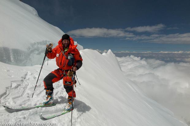"""Ferran Latorre: """"para hacer cima en el Everest deben alinearse una serie de factores"""""""
