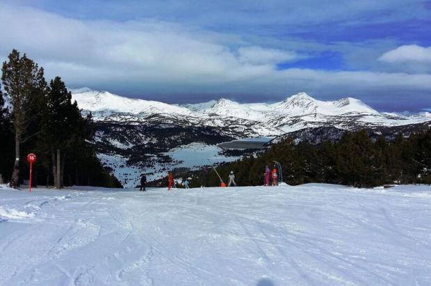 Font-Romeu Pyrennees 2000 la estación más soleada con buena nieve